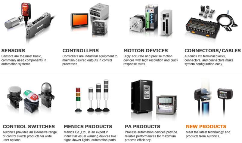 Autonics products