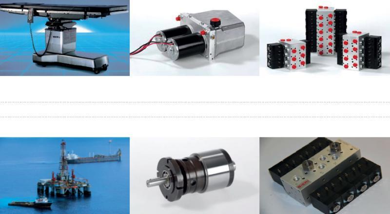 Bieri Hydraulik products