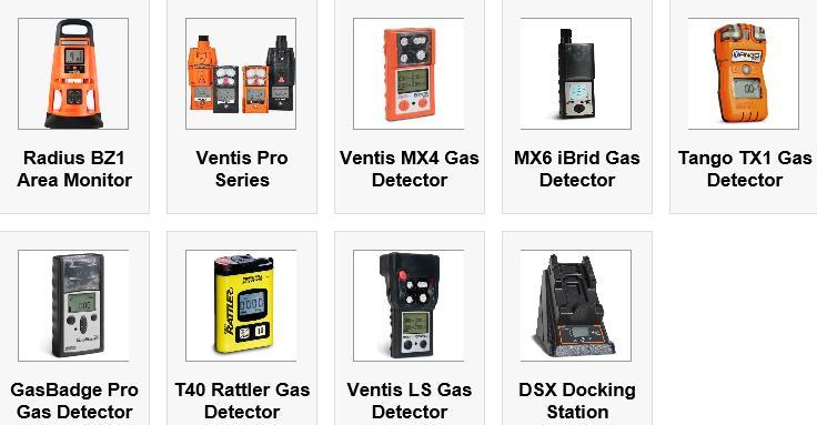 Industrial Scientific products
