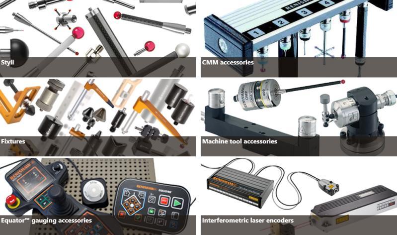 Renishaw products