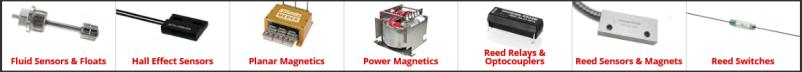 Standex-Meder Electronics products