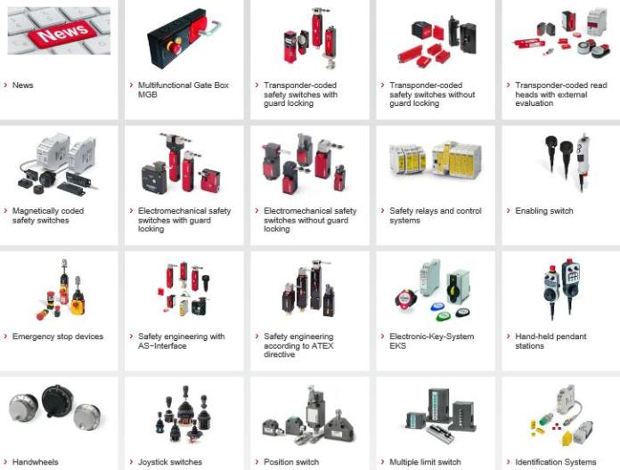 EUCHNER products
