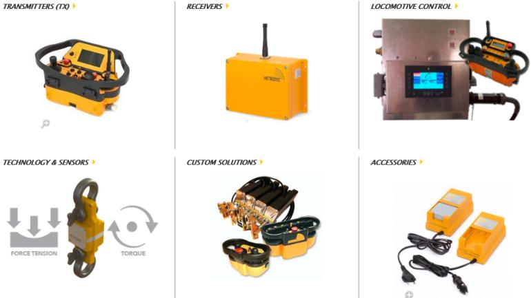 Hetronic products