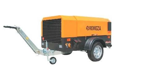 Передвижные дизельные компрессоры Remeza