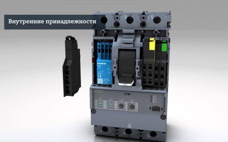 Выключатель в литом корпусе Siemens 3VA