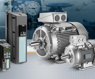 Siemens motors and converters