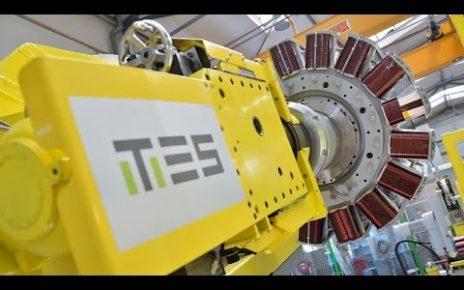 TES Rotor Winding Machine