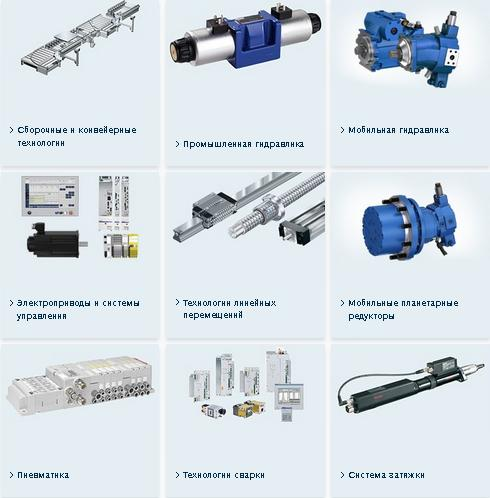 Bosch Rexroth products