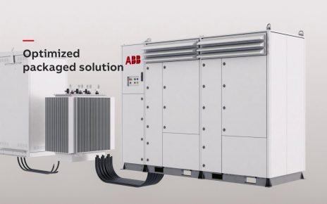 ABB central inverters PVS980