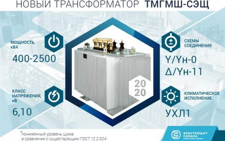 Трансформаторы ТМГМШ-СЭЩ