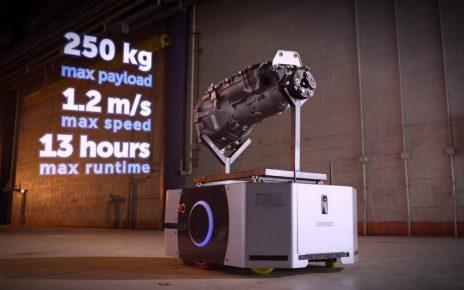 Omron mobile robot LD-250