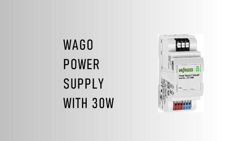 WAGO Power Supply with 30 W