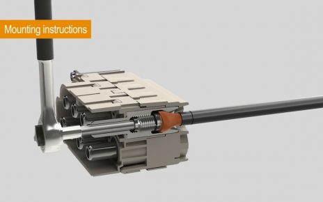 Weidmuller HDC axial screw technology