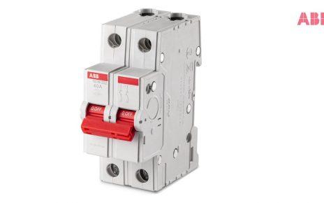 ABB Formula DIN Rail MCB, RCCB and Isolator