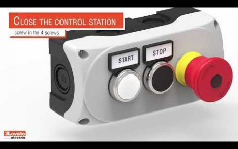 Lovato Electric control station LPZ… series